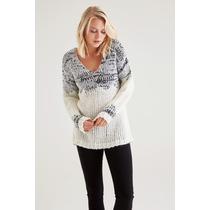 Pullover Feminino V Pescoço (suéter) - V Neck Pullover