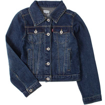 Jaqueta Jeans True Blue Denim Premium Criança Blusa Levi
