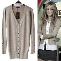 Casaco /cardigan/sweater Brilho Zara Lã Importados