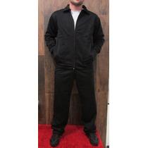 Conjunto Masculino Helanca Peluciada Calça + Jaqueta C Bolso