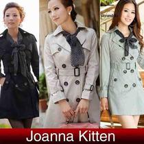 Sobretudo/trench Coat/ Casaco/ Vestido/moda Inverno Tam.38