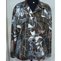Blusa Plus Size , Jaqueta Estampada Tamanhos Grandes