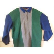 Blusa De Frio Polo Aveludado 4xl Tamanho Especia 82cm X 72cm