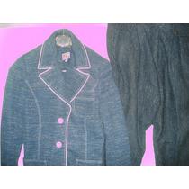 Blaiser Imitando Jeans Da Pull Sport Tam 42