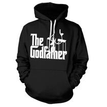 Blusa Poderoso Chefão -the Godfather Canguru Com Capuz