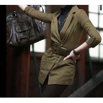 Casaco Trench-coat Militar | Importado | Pronta-entrega