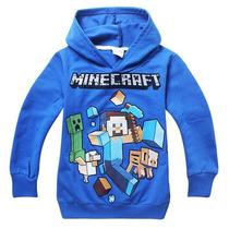 Blusa Minecraft Creeper Original - Meia Estação - Exclusivo!