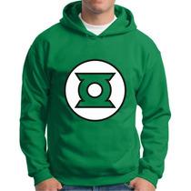 Moletom Lanterna Verde Moletons De Super Herois Blusa Capuz
