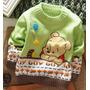 Blusão De Lã Infantil - Importados - Novos