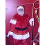 Roupa De Papai Noel De Luxo
