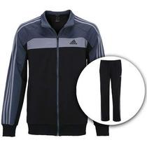 Agasalho Abrigo Conjunto Adidas Masc. Original Ts Knit 02