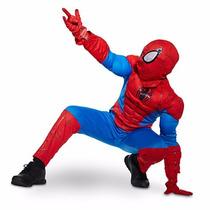 Fantasia Disney Marvel Homem Aranha Original P Entrega