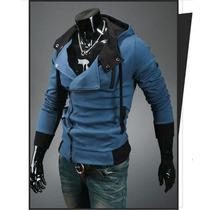 Casaco Jaqueta Blusa Moleton Slim Fit Importado Frete Gratis