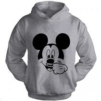 Moletom Canguru Mickey