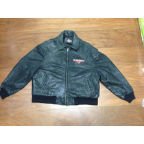 Jaqueta Couro Harley Davidson New York Café Original - Usada