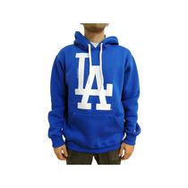 Blusa Moletom La Los Angeles Dodgers Canguru Várias Cores