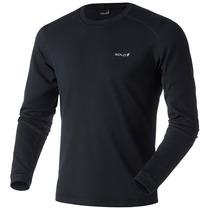 Blusa Solo X-thermo Ds T-shirt Masculino Preto - Ggg-2xl Rs1