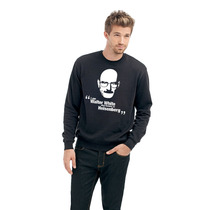 Blusa Breaking Bad - Walter White - Moletom Gola Redonda