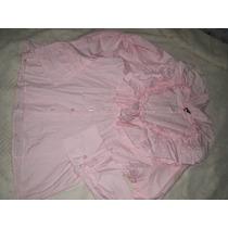 Camisa Feminina Chemiserie Tamanho M Veste G