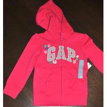 Moleton Infantil Gap Pink Tam.4