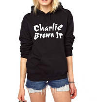 Blusa Charlie Brown Jr. Moletom Canguru -pronta Entrega!
