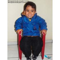 Jaqueta Com Capuz Forrada Com Pelúcia 1 A 3 Anos- Inverno