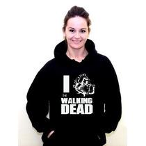Blusa Moletom The Walking Dead Canguru Com Capuz - Promoção!