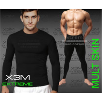 Conjunto Térmico Segunda Pele Extreme Calça + Blusa Multskin
