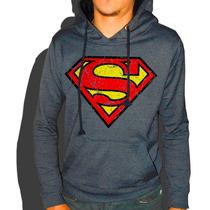 Blusas De Moletom Masculinas Superman, Nirvana, Heineken