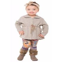Conjunto Feminino Calça Estampada Serelepe 3657