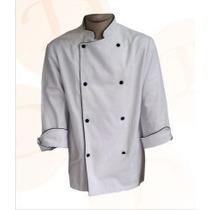 Dolmã Chefe De Cozinha Avental - Frete Grátis