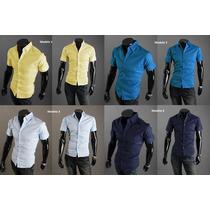 Camisa Manga Curta Vários Modelos - Importado - Frete Grátis