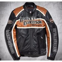 Jaqueta Harley Davidson Moto Couro