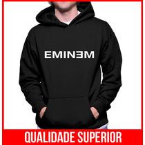 Moletom Eminem Masculino E Feminino Blusa Canguru