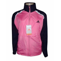 Agasalho Adidas Feminino Preto E Rosa