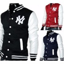 Jaqueta College Varsity New York Pronta Entrega