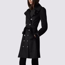 Trench Coat Importado M Sobretudo Feminino Elegante Em Lã