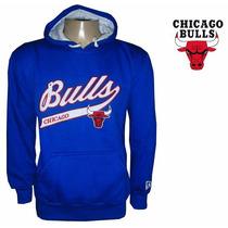 Blusa Moletom Chicago Bulls - Original C Frete Grátis