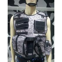Colete Tático Camuflado Força Nacional Brasil