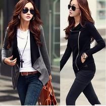 Casaco Sobretudo Jaqueta Blusa Feminino Com Zipper 3 Modelos