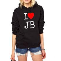Blusa Justin Bieber Moletom Canguru - Promoção !