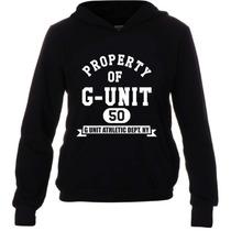 Casaco Moletom Hip Hop - G Unit 50 Cent - Com Bolso E Capuz