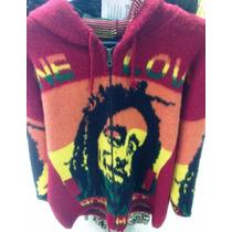 Casaco Bob Marley Lã Excelente Estilo