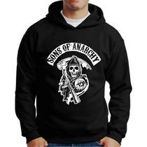 Blusa Moletom Sons Of Anarchy Motos Sancro Harley Casaco
