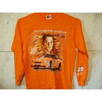 Blusa Camiseta Frio Inverno Nascar Tony Stewart Gg 70x56cm