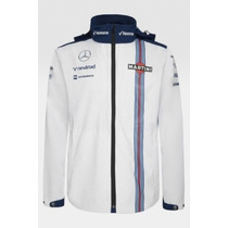 Nova Jaqueta De Chuva Williams Martini Racing F1 Team 2015