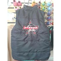 Colete Rodeio Logo Pbr Bordado R$125,00