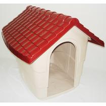 Casa Casinha Para Cães N3 70x60x60 Plast Pet Cores Variadas