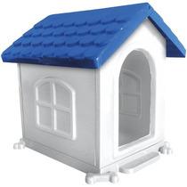 Casa Para Cães Desmontável N° 3 65 X 60 X 45 Azul