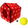 Casinha Para Cachorros Pet Acolchoada + Bola De Tenis Grátis